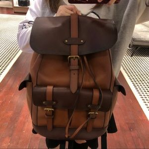 Coach backpack for men
